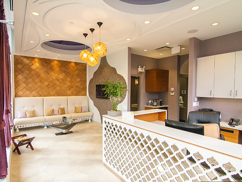 Atomic Electrical Solutions - Dr. Lodhia Reception Area